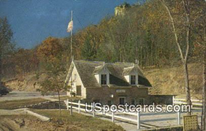Stonefield - Cassville, Wisconsin WI Postcard