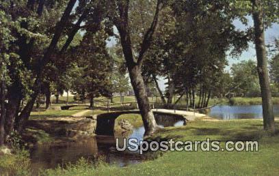 Stange Public Park - Merrill, Wisconsin WI Postcard