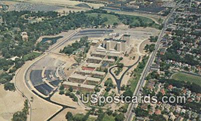 US Veterans Administration Center - MIlwaukee, Wisconsin WI Postcard