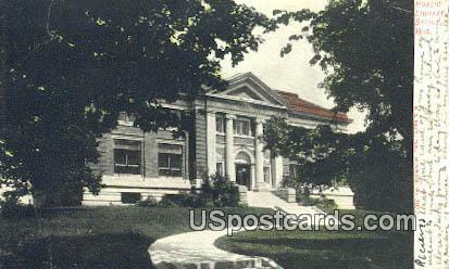 Public Library - Beloit, Wisconsin WI Postcard