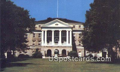Bascom Hall - Madison, Wisconsin WI Postcard