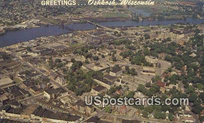 Oshkosh, Wis Postcard      ;      Oshkosh, Wisconsin