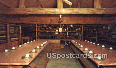 Logging Museum - Rhinelander, Wisconsin WI Postcard