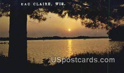 Eau Claire, WI Postcard      ;      Eau Claire, Wisconsin