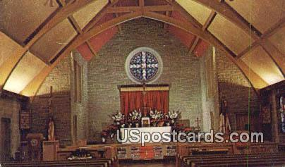 St Luke's Episcopal Church - MIlwaukee, Wisconsin WI Postcard