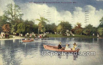 Washington Park - MIlwaukee, Wisconsin WI Postcard