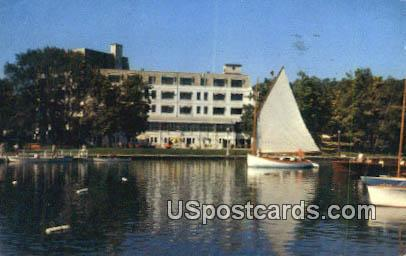 Waterfront, American Baptist Assembly - Green Lake, Wisconsin WI Postcard