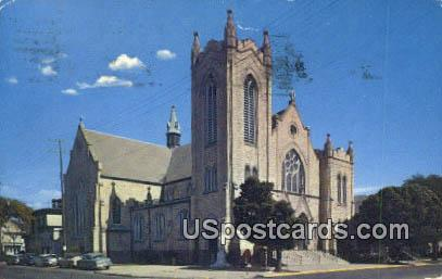 St Josephs Church - Fond du Lac, Wisconsin WI Postcard