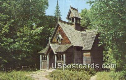 Boynton Chapel - Door County, Wisconsin WI Postcard