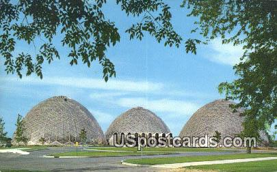 New Horticultural Conservatory - MIlwaukee, Wisconsin WI Postcard