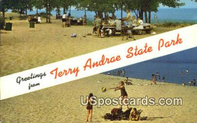 Terry Andrae State Park, WI Postcard      ;      Terry Andrae State Park, Wisconsin
