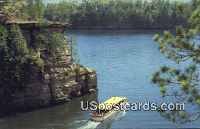 Leaving Witches Gulch - Wisconsin Dells Postcards, Wisconsin WI Postcard
