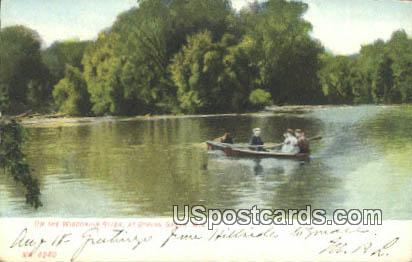 Wisconsin River - Spring Green Postcard