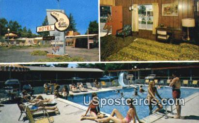 Villa Motel - Wisconsin Dells Postcards, Wisconsin WI Postcard