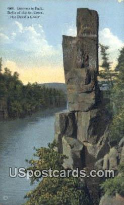 Interstate Park - Dells of the St Croix, Wisconsin WI Postcard