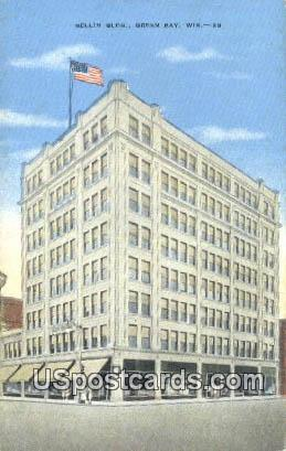 Bellin Building - Green Bay, Wisconsin WI Postcard