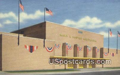 Mary E Sawyer Memorial Auditorium - La Crosse, Wisconsin WI Postcard