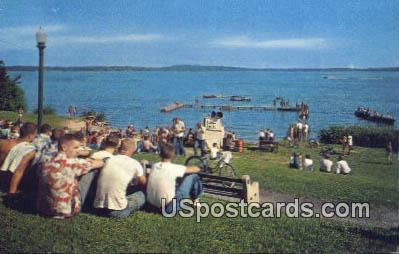 Lake Monona - Madison, Wisconsin WI Postcard