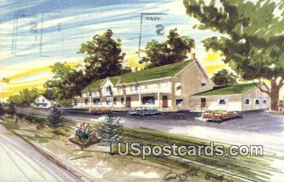Ye Olde Hotel - Lyons, Wisconsin WI Postcard