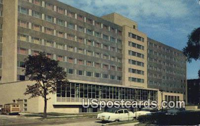 Walter Schroeder Hall - MIlwaukee, Wisconsin WI Postcard