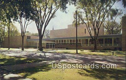 Music Drama Center, Lawrence College - Appleton, Wisconsin WI Postcard