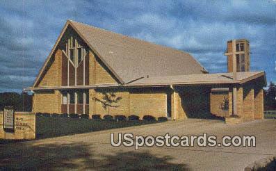 Grace Lutheran Church - Dodgeville, Wisconsin WI Postcard