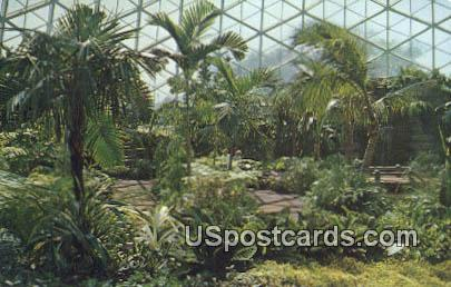 Horticultural Conservatory, Mitchell Park - MIlwaukee, Wisconsin WI Postcard