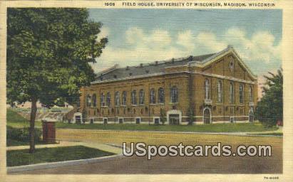 Field House, University of Wisconsin - Madison Postcard