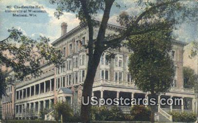 Chadbourne Hall, University of Wisconsin - Madison Postcard