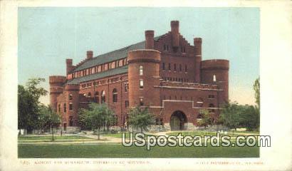 Armory & Gymnasium, University of Wisconsin - Madison Postcard