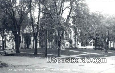 St Luke's Episcopal Church - Whitewater, Wisconsin WI Postcard
