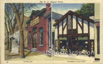 HH Bennett Studio - Misc, Wisconsin WI Postcard