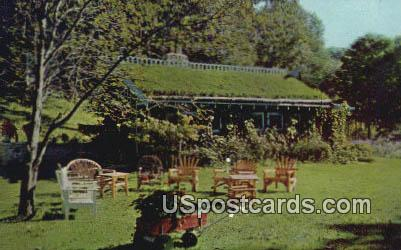 Sod Roof Cabin - Blue Mounds, Wisconsin WI Postcard