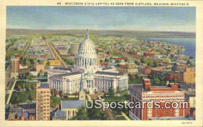 Wisconsin State Capitol - Madison Postcard