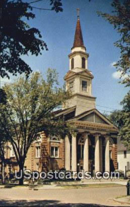 First Baptist Church - Eau Claire, Wisconsin WI Postcard