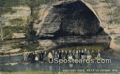 Oehler's Cave - La Crosse, Wisconsin WI Postcard