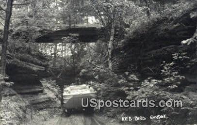 Red Bird Gorge, WI     ;     Red Bird Gorge, Wisconsin Postcard