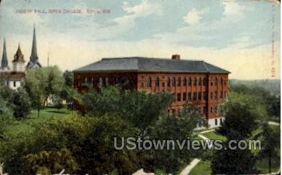 Ingram Hall, Ripon College - Wisconsin WI Postcard
