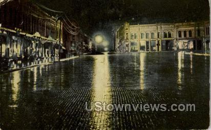 Main Street  - Ripon, Wisconsin WI Postcard