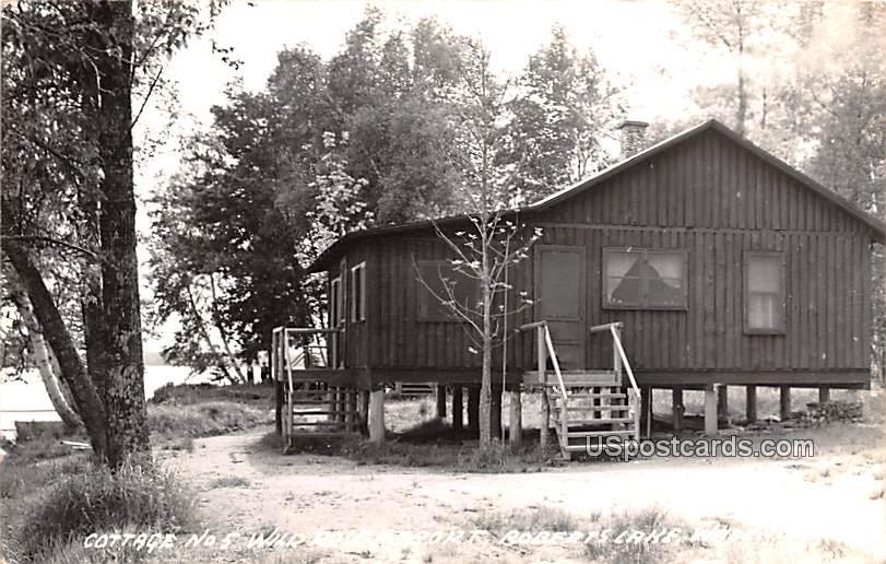 Cottage No 5 - Roberts Lake, Wisconsin WI Postcard