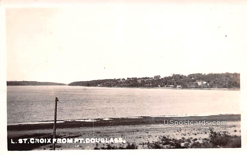 From Pt Douglass - Saint Croix, Wisconsin WI Postcard