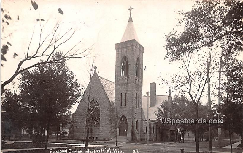 Episcopal Church - Stevens Point, Wisconsin WI Postcard