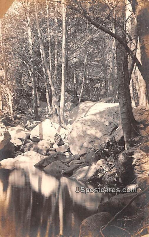 Rock Scene - Sturtevant, Wisconsin WI Postcard