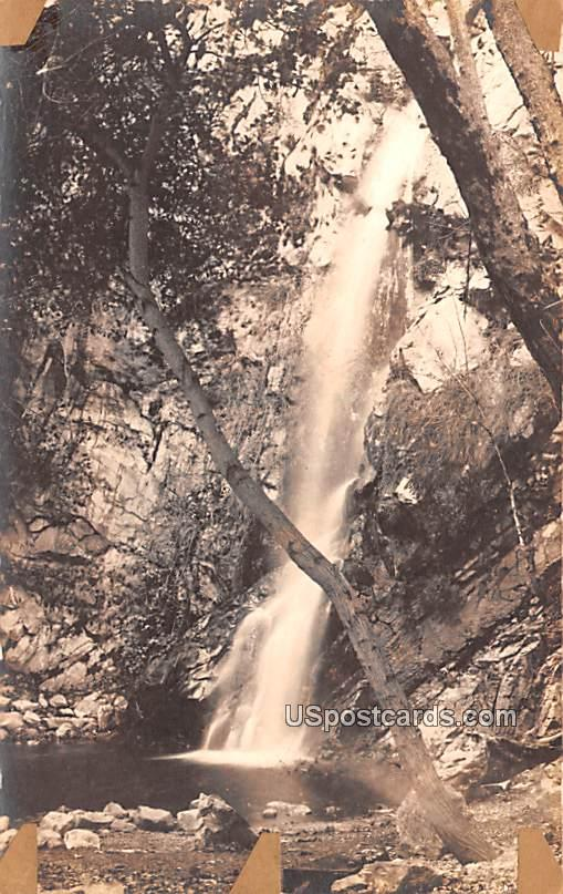 Waterfall - Sturtevant, Wisconsin WI Postcard