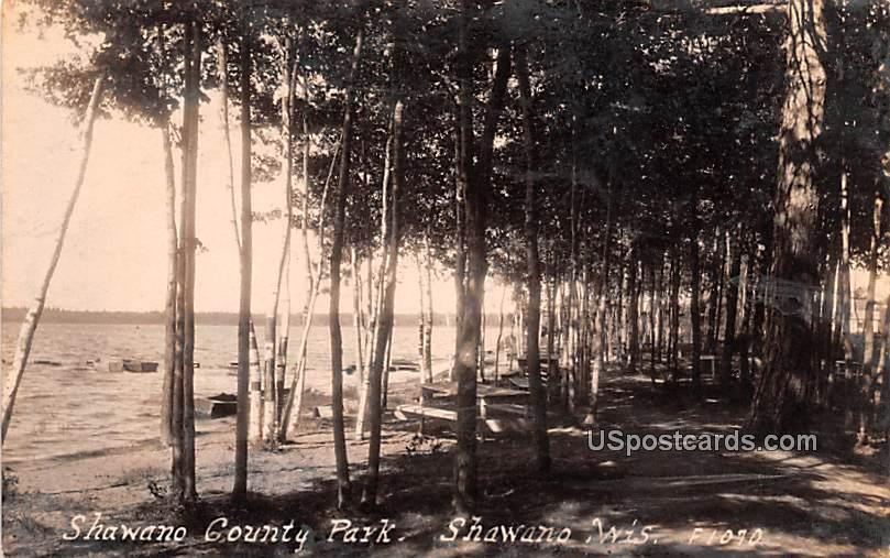Shawano County Park - Wisconsin WI Postcard