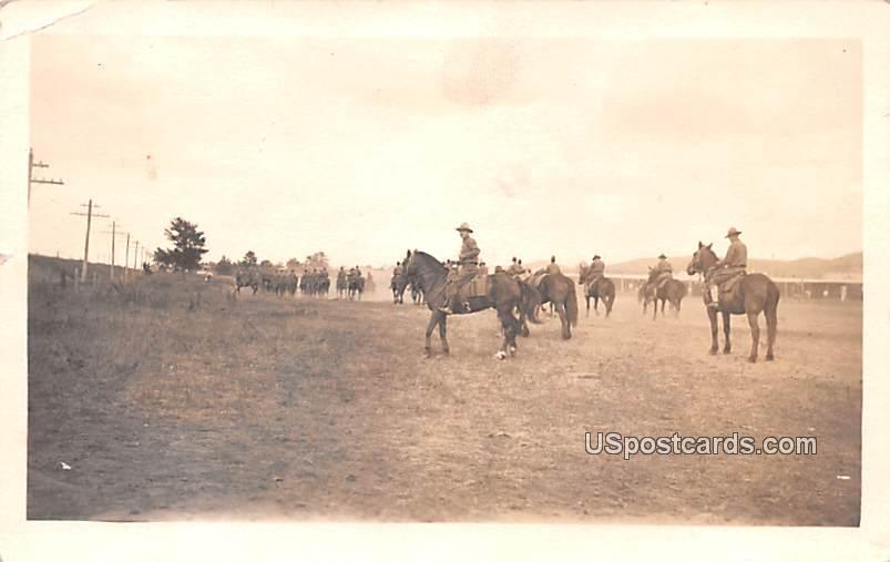 Horse Riders - Sparta, Wisconsin WI Postcard