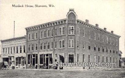 Murdock House - Shawano, Wisconsin WI Postcard