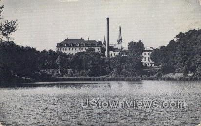 Seminary Lake - St. Nazianz, Wisconsin WI Postcard