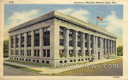 Hardware Mutuals - Stevens Point, Wisconsin WI Postcard
