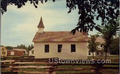Village Church - Cassville, Wisconsin WI Postcard